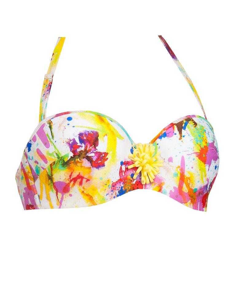 Bikini Bandeau Antigel colección La Belle Artiste   -   - PEPI GUERRA