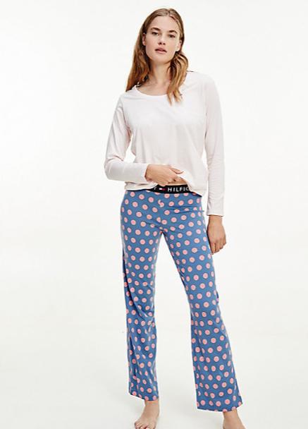 Pijama Señora Tommy Hilfiger Polka Dots   -   - PEPI GUERRA