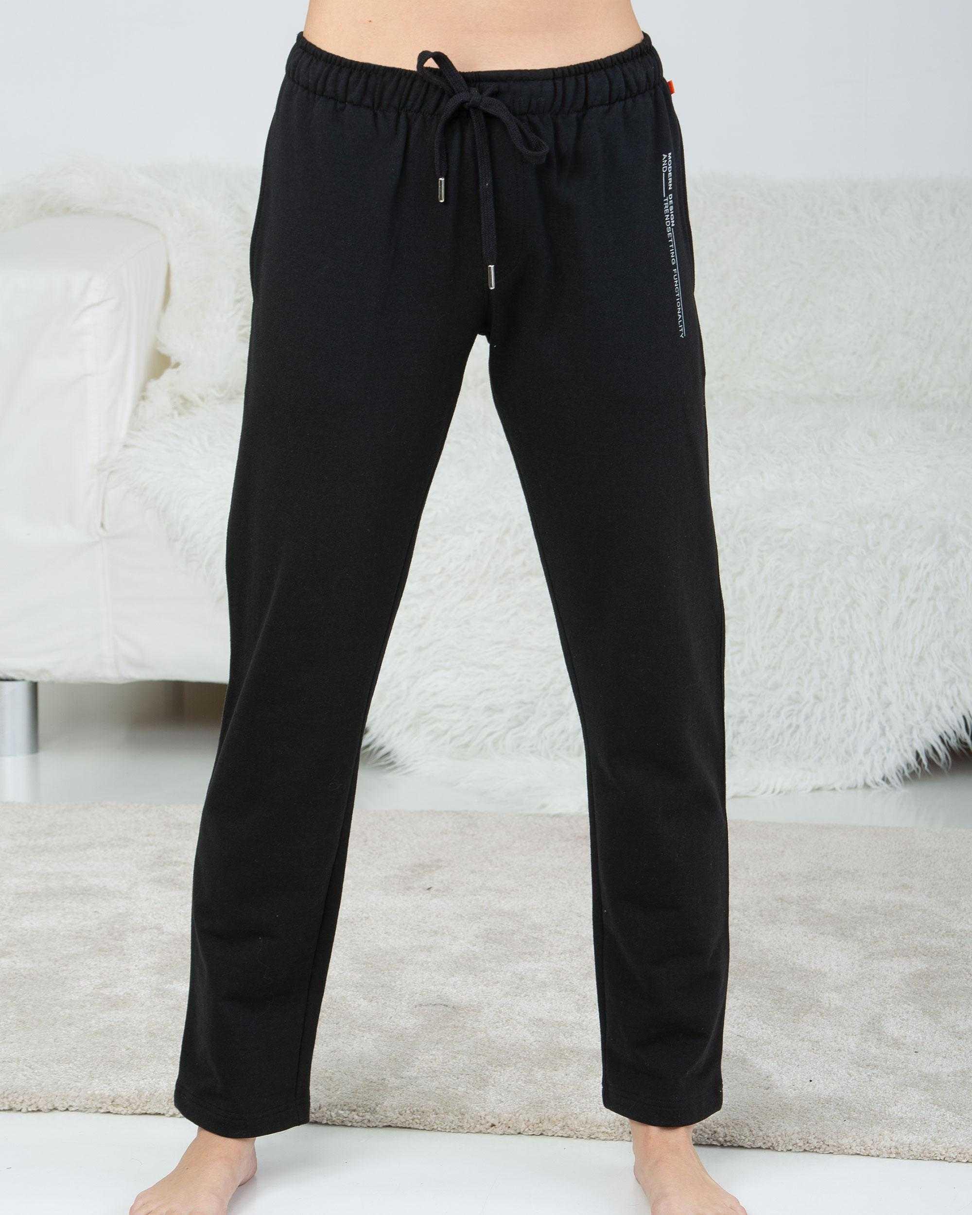 Pantalón Pijama Caballero Modern Design Massana TALLAS: m, l; COLOR: negro  - HOMBRE  - PEPI GUERRA