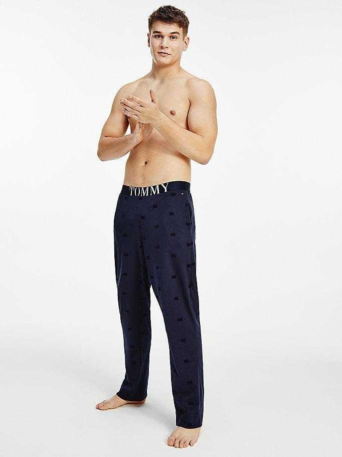 Pantalón Pijama Caballero Tommy Hilfiger Logos   -   - PEPI GUERRA