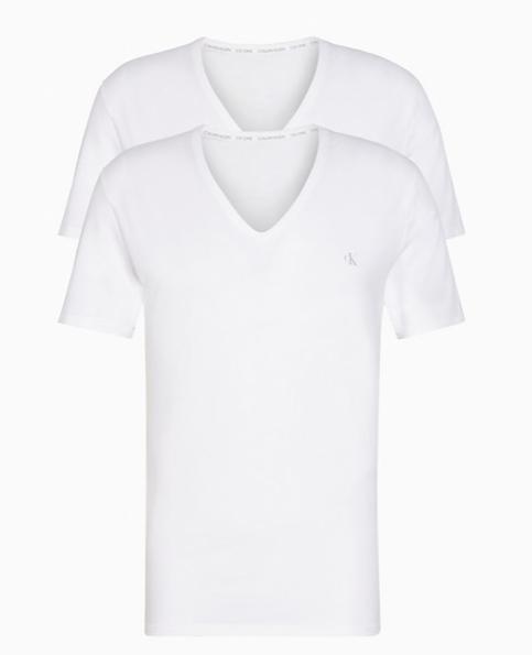 Pack dos camisetas interiores CK1 Calvin Klein TALLAS: s, m, l, xl; COLOR: blanco, negro  - HOMBRE  - PEPI GUERRA