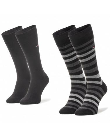 Pack 2 Calcetines Caballero Tommy Hilfiger Rayas   -   - PEPI GUERRA