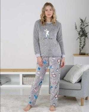 Pijama Polar Señora Massana White Rabbit   -   - PEPI GUERRA