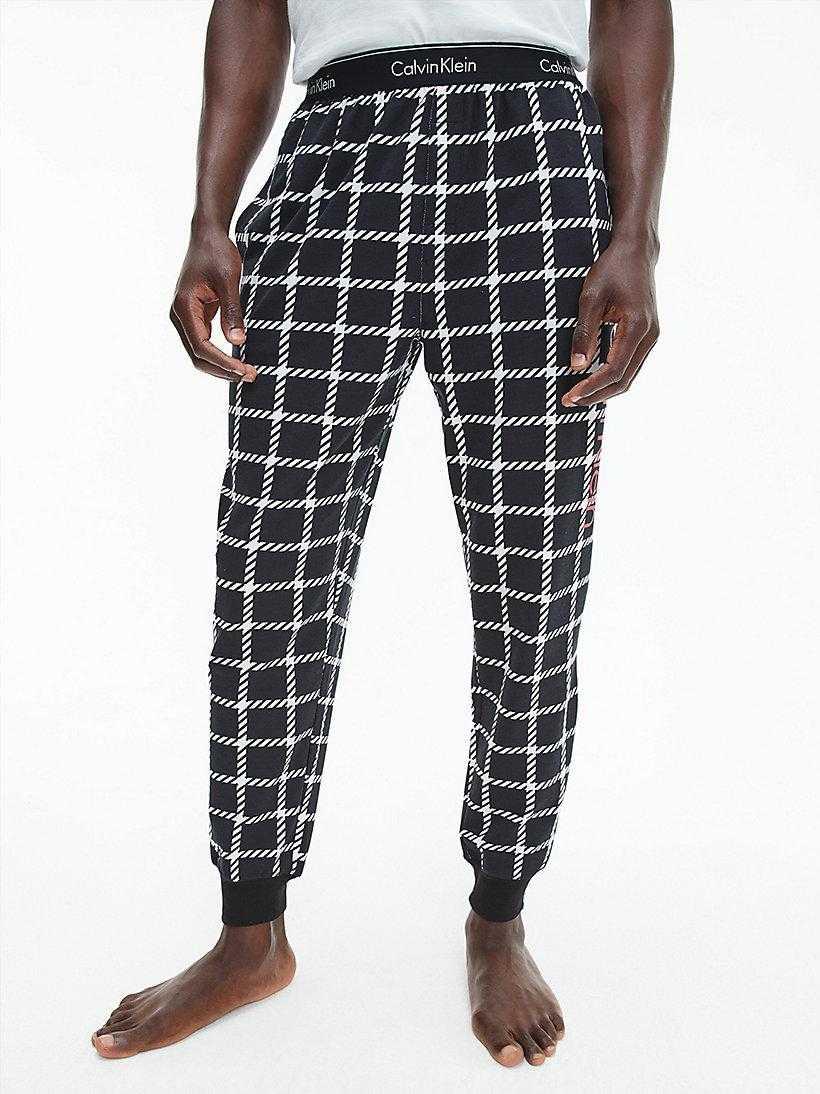 Pantalón Jogger Caballero Calvin Klein Window Pane   -   - PEPI GUERRA