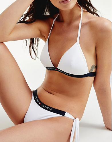 Bikini Tommy Hilfiger TALLAS: xs, s, m; COLOR: blanco, marino  - BAÑO  - PEPI GUERRA