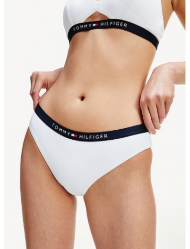 Braga bikini Tommy Hilfiger TALLAS: s; COLOR: blanco, marino  - BAÑO  - PEPI GUERRA