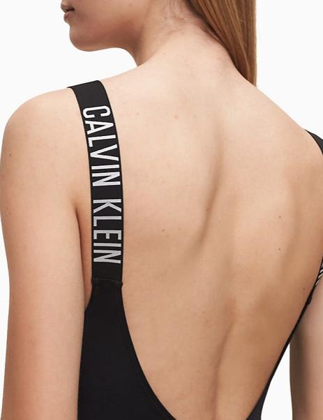 Bañador Calvin Klein cuello bajo Intense TALLAS: xs, s, m; COLOR: negro, fucsia  - BAÑO  - PEPI GUERRA