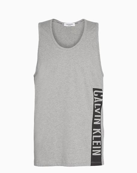 Camiseta Calvin Klein tirantes COLOR: gris; TALLAS: s, m, l Composición: algodón - HOMBRE  - PEPI GUERRA
