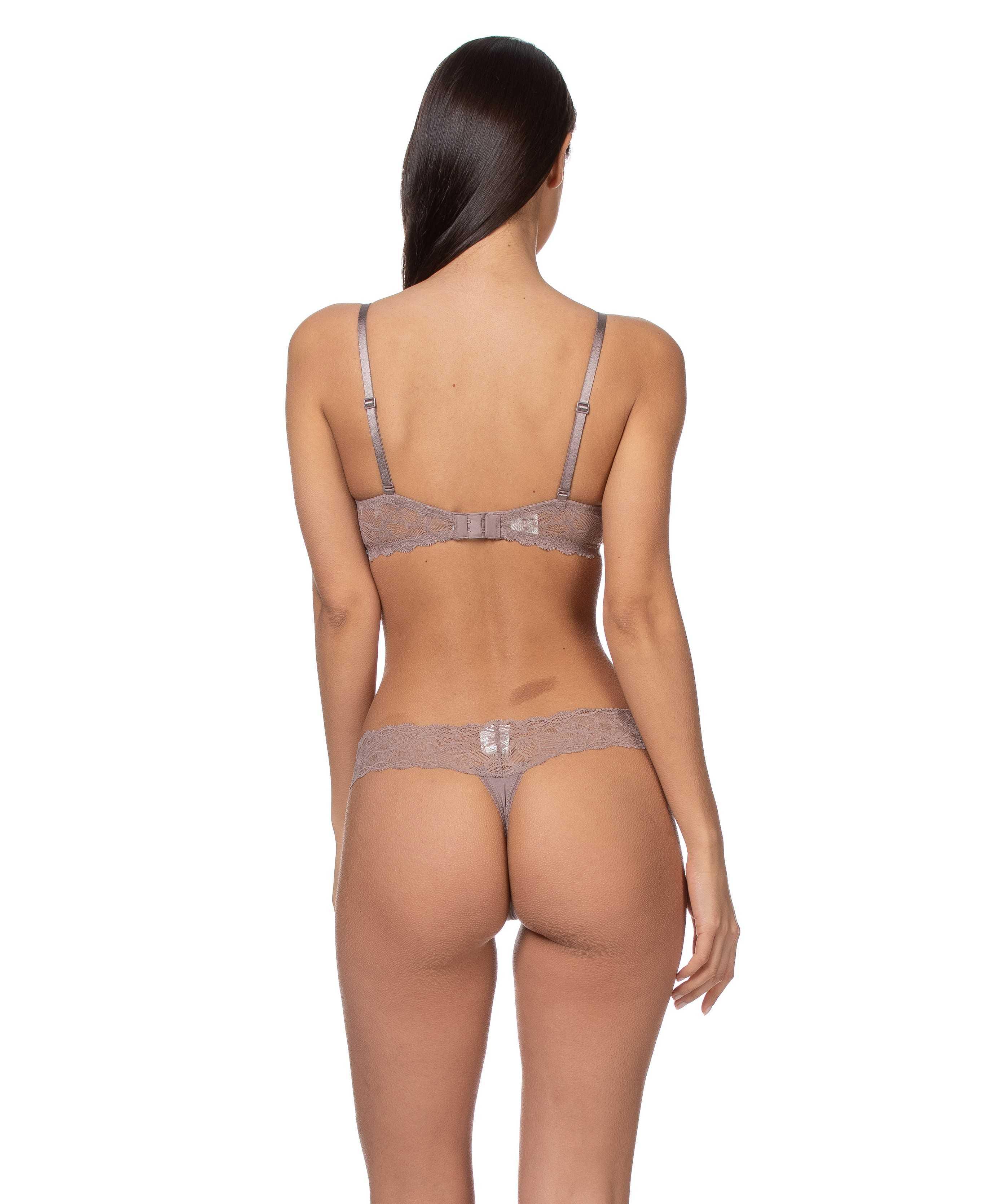 Tanga encaje seductive confort Calvin Klein TALLAS: s, m  - Braguitas  - PEPI GUERRA