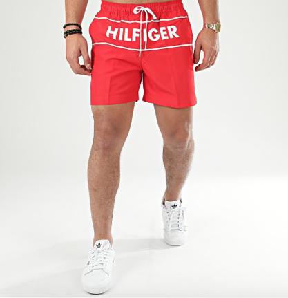 Bañador hombre Tommy Hilfiger rojo TALLAS: s, m, l, xl; COLOR: rojo  - HOMBRE  - PEPI GUERRA