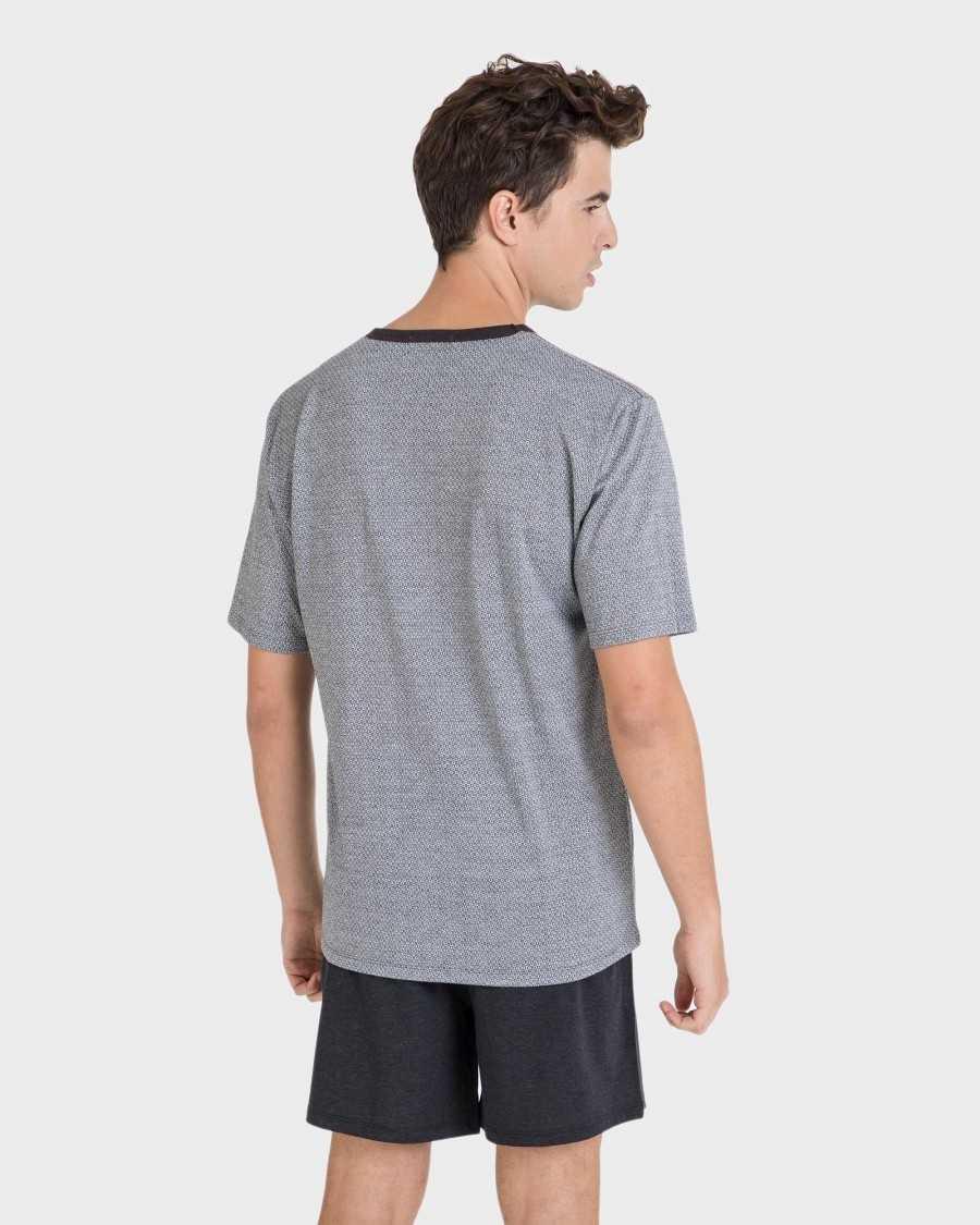 Massana pijama caballero cuello pico TALLAS: m, l, xl  - HOMBRE  - PEPI GUERRA