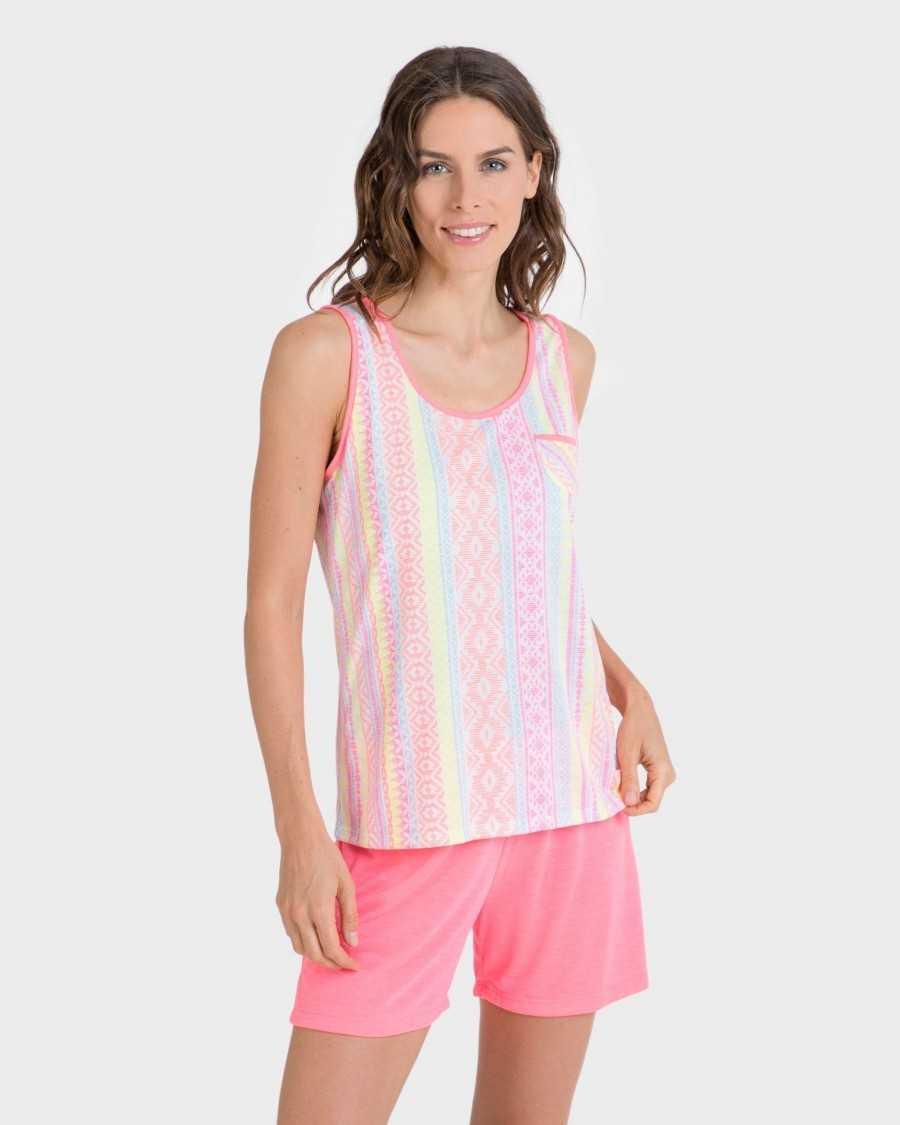 Pyjama mujer Massana flúor