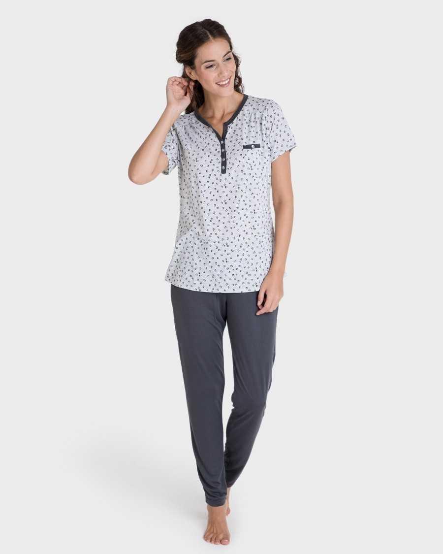 pijama massana mujer pantalón largo TALLAS: l, xl, xxl  - Lencería noche  - PEPI GUERRA