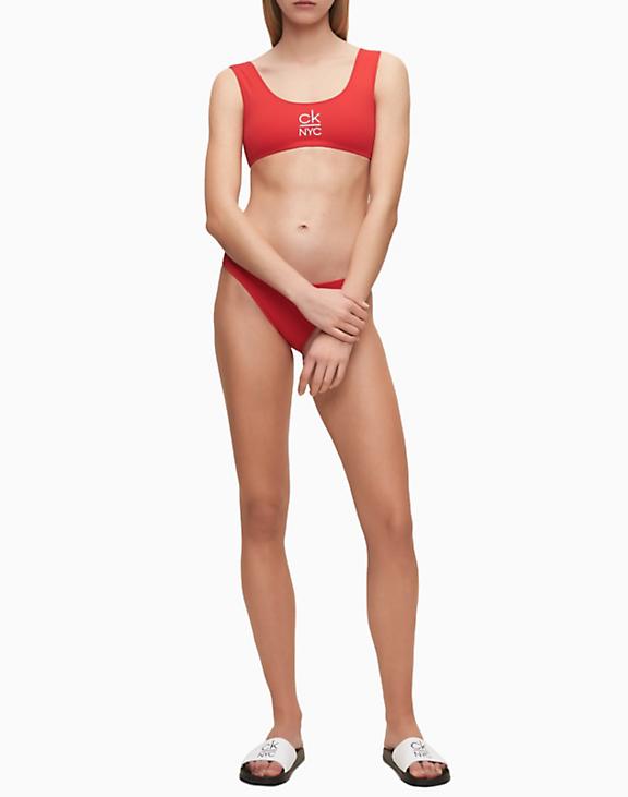 Chanclas mujer Calvin Klein slide COLOR: blanco, rojo, negro; TALLAS: 35/36, 37/38, 39/40  - BAÑO  - PEPI GUERRA