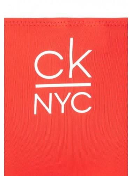Braguita de lazos bikini Calvin Klein TALLAS: s, m, l; COLOR: rojo, negro  - BAÑO  - PEPI GUERRA