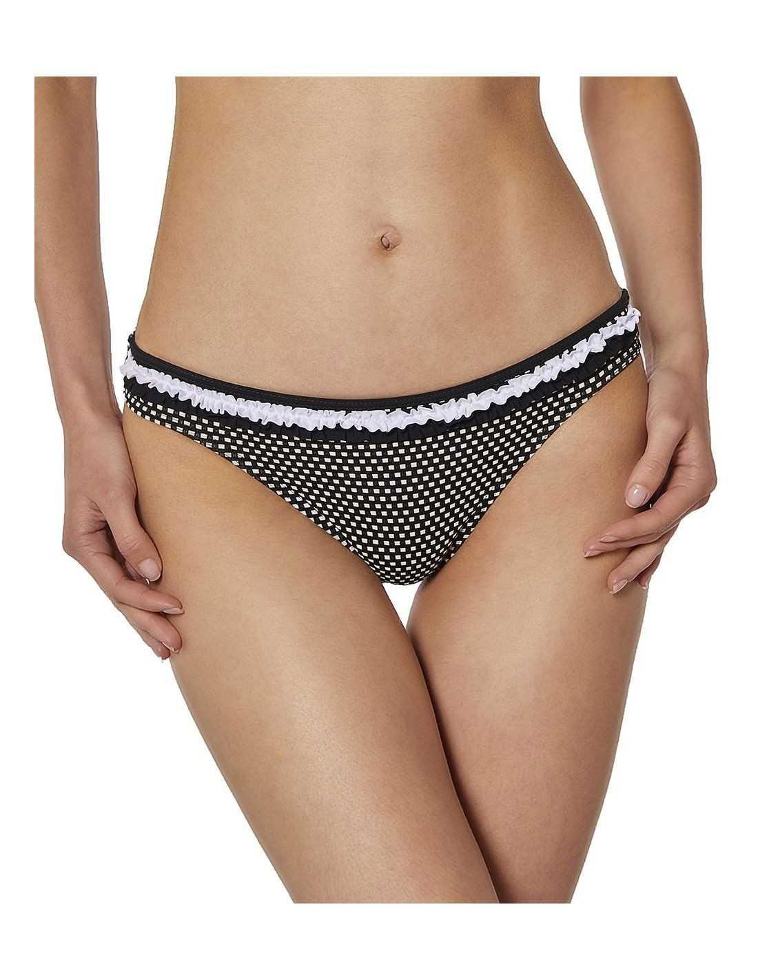 Braga bikini Onade de Red Point Carla COLOR: negro; TALLAS: 44, 46  - BAÑO  - PEPI GUERRA