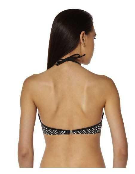 Braguita bikini Onades Red Point Carla COLOR: negro; TALLAS: 44, 46  - BAÑO  - PEPI GUERRA