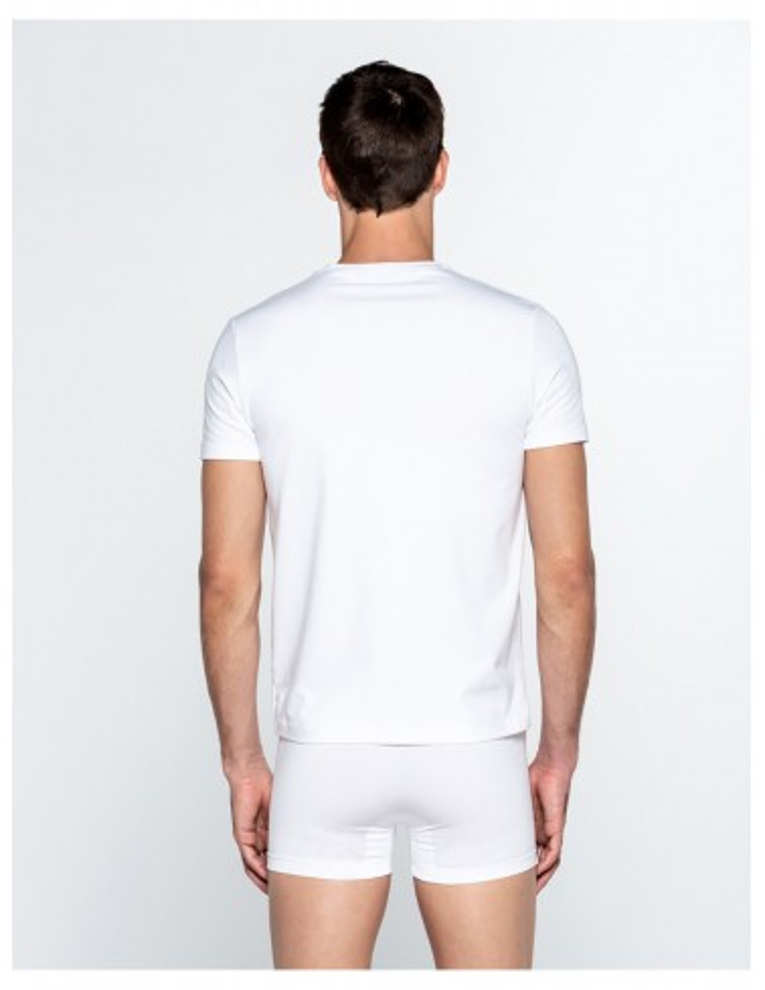 Camiseta Punto Blanco cuello redondo Ecologix TALLAS: s, m, l, xl; COLOR: blanco, negro Composición: algodón - HOMBRE