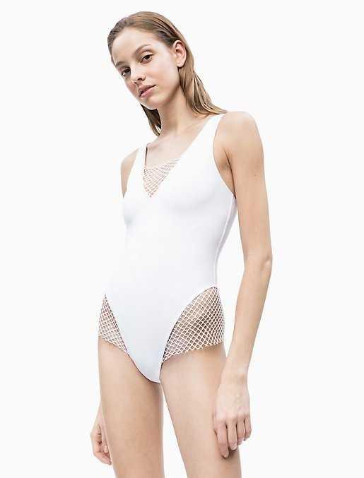 Bañador chica Calvin Klein Mesh  Composición: poliamida - BAÑO  - PEPI GUERRA