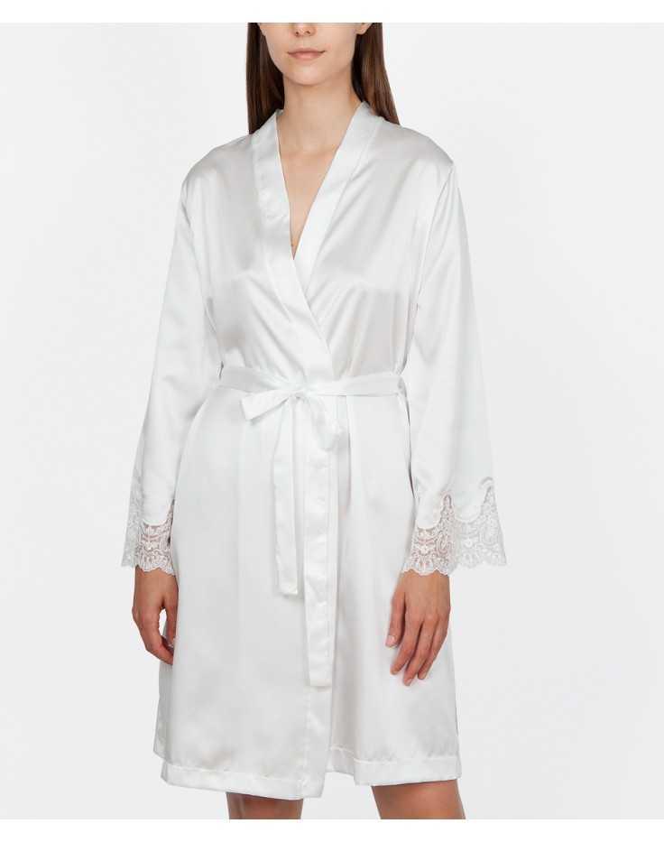 Satin robe Ivette bridal collection HERITAGE
