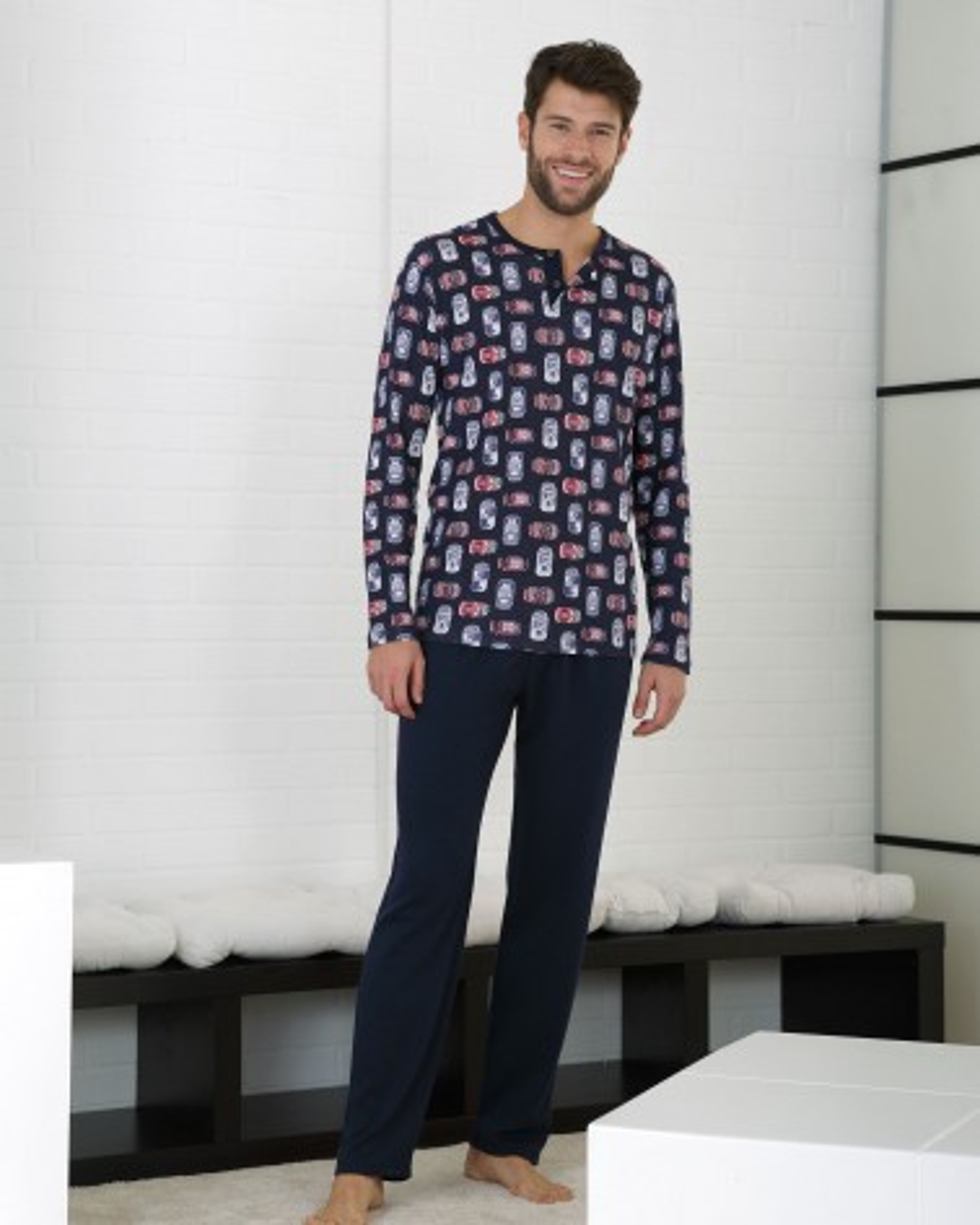 Pijama Caballero Massana   - Inicio  - PEPI GUERRA