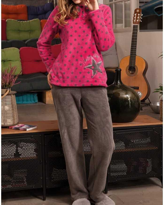 Pijama Señora Señoretta Lunares