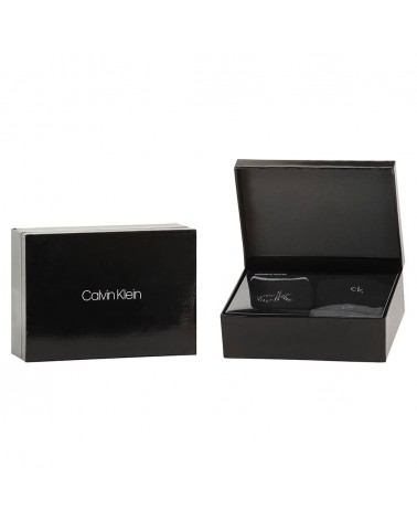 Pack 3 Calcetines Mujer 'Black Crystal Box' Calvin Klein
