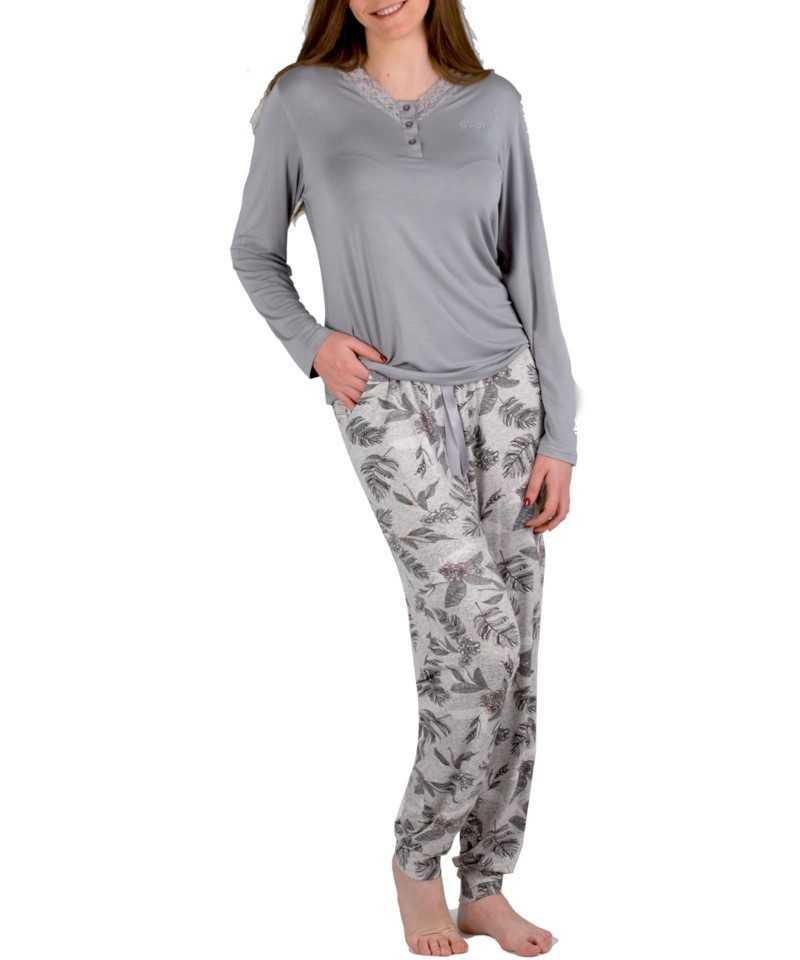 Pijama Señora Pettrus 'Grey'