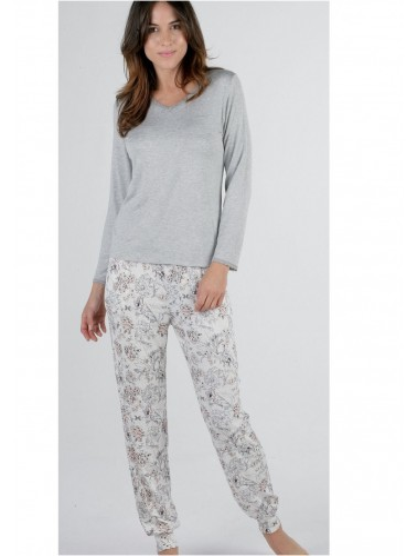 Pijama Mujer Pettrus viscosa tejido fino