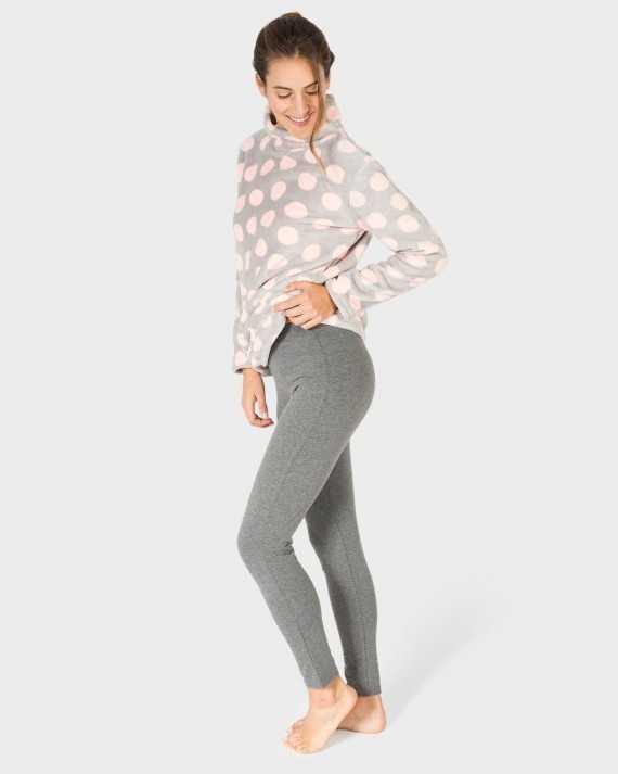 Pijama Señora Massana 'Lunares Coralina'