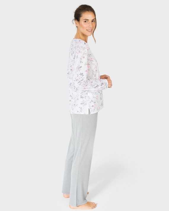 Pijama Señora Massana 'Pink Flower'