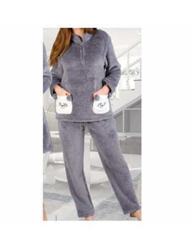 Pijama Invierno Osos Señora Pettrus