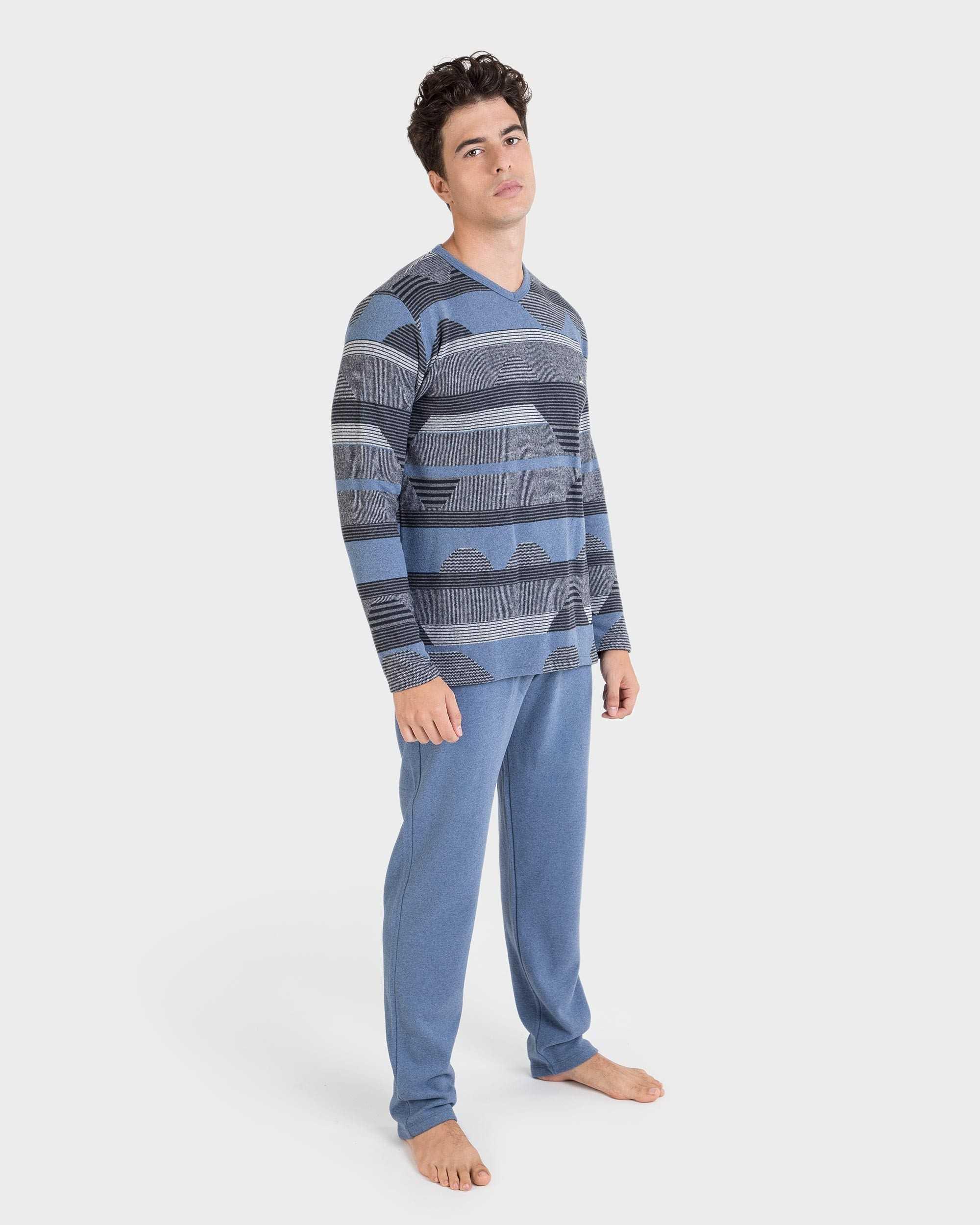 Pijama Caballero 'Vigoré Azul' Massana   -   - PEPI GUERRA