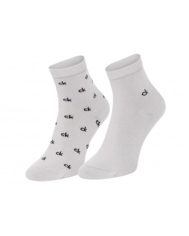 Pack 2 Calcetines Mujer Calvin Klein 'Organic Cotton'