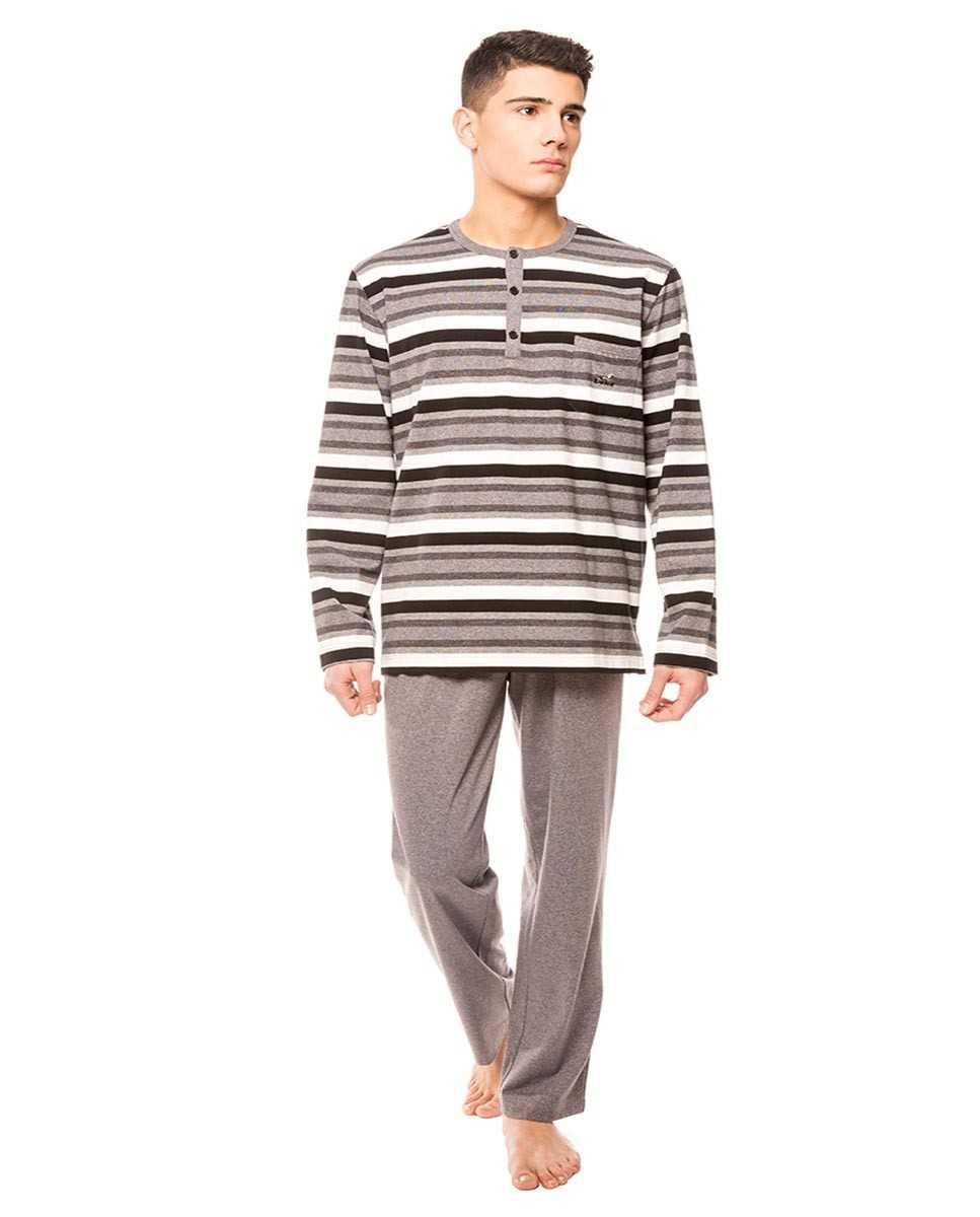 Pijama Caballero Lohe Combinación Rayas   -   - PEPI GUERRA