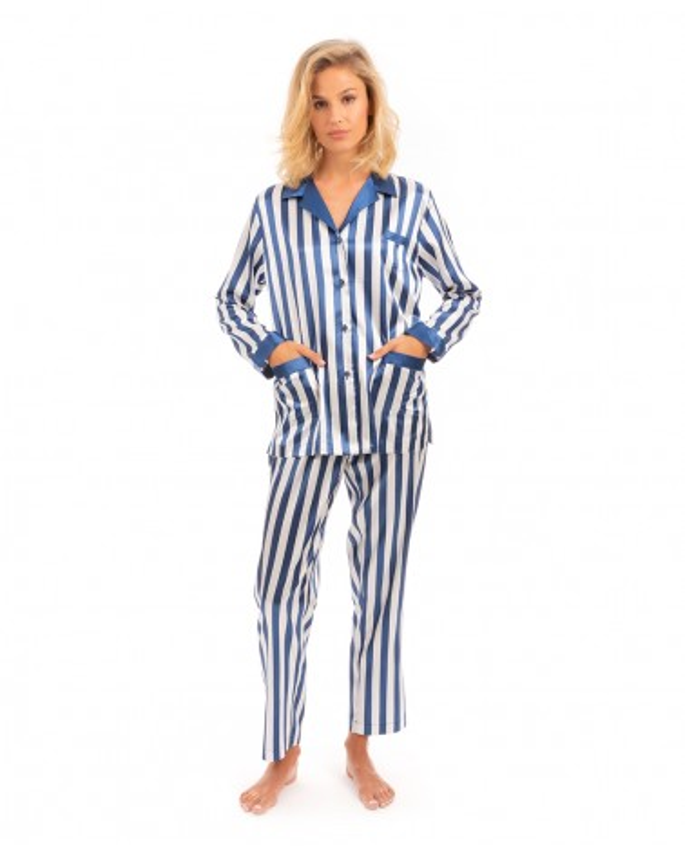 Pijama raso Lohe franjas