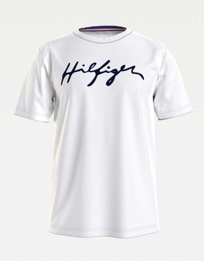 Tommy Hilfiger Crew neck tee logo