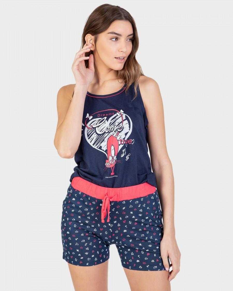 Pijama Mujer Tirante Ancho Massana