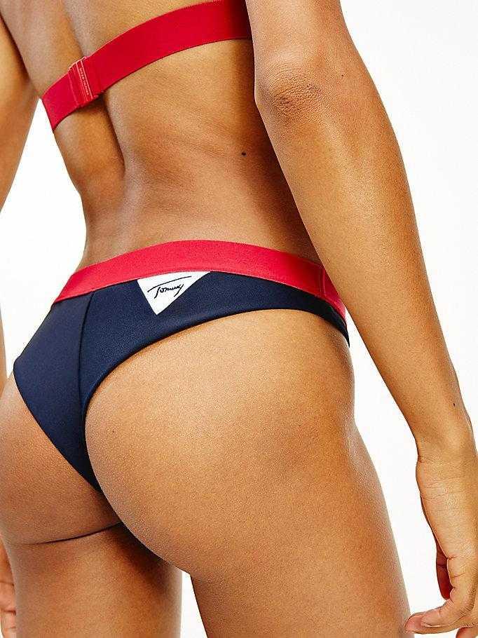 Braga Bikini Brasileña Tommy Hilfiger Jeans   -   - PEPI GUERRA
