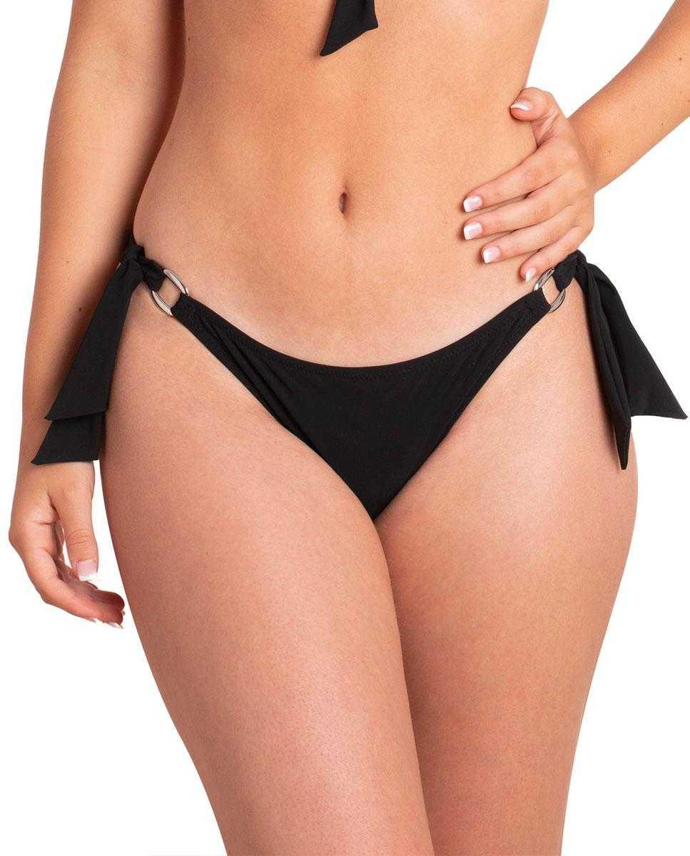 Braga Lazos Bikini Black Carey by Ory   -   - PEPI GUERRA