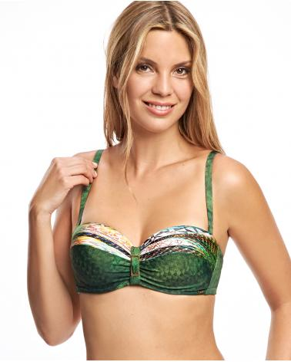 Bandeau Bikini Green Ory   -   - PEPI GUERRA