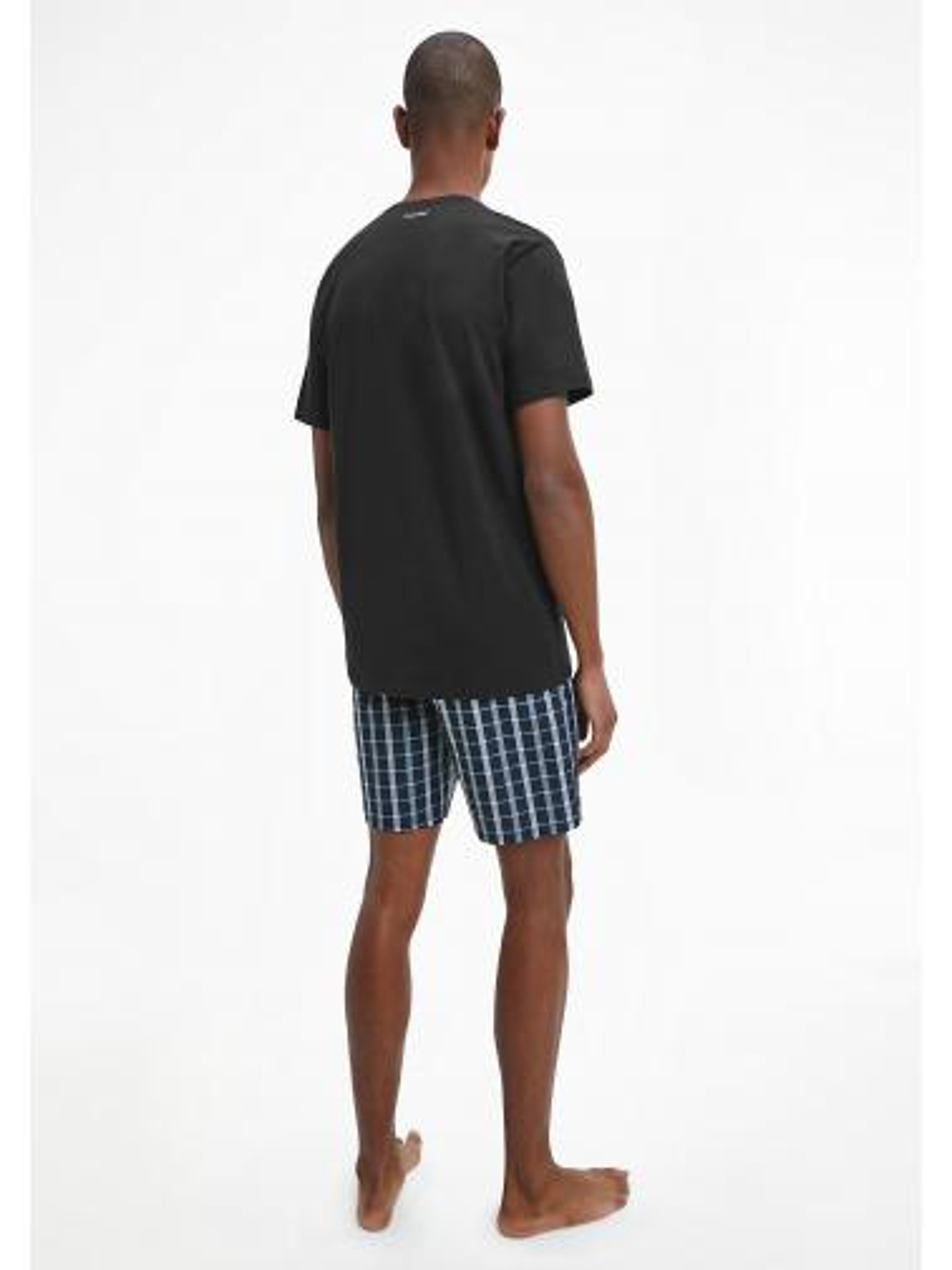 Pijama Caballero Cuadros Modern Cotton Calvin Klein