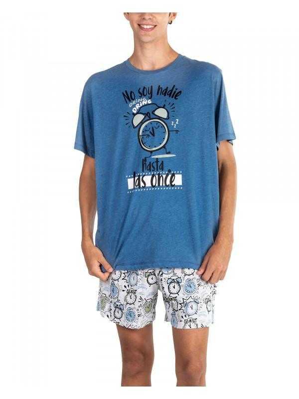 Pijama Caballero Pettrus Despertador   -   - PEPI GUERRA