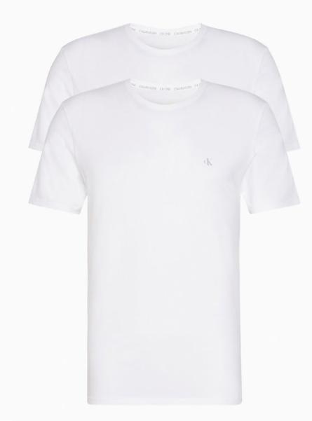 Pack de 2 Camisetas Calvin Klein CK1 TALLAS: s, m, l, xl; COLOR: blanco, negro  - HOMBRE  - PEPI GUERRA